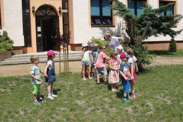 Impreza w ogrodzie przedszkolnym