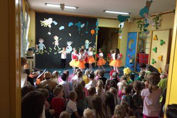 Pożegnanie Przedszkola w grupie Krasnoludki i Lwy