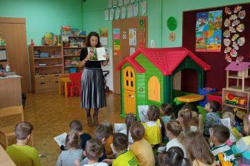Spotkanie z Panią Izabelą Michtą autorką książeczek dla dzieci